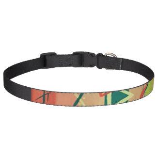 Tea Party dog collar
