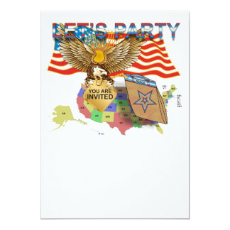 Tea-Party-Version-1 13 Cm X 18 Cm Invitation Card
