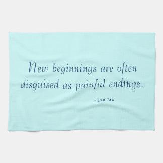 Tea Towel - new beginnings