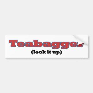 Teabagger - Look it Up Bumper Sticker