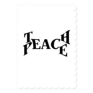 Teach Peace Card