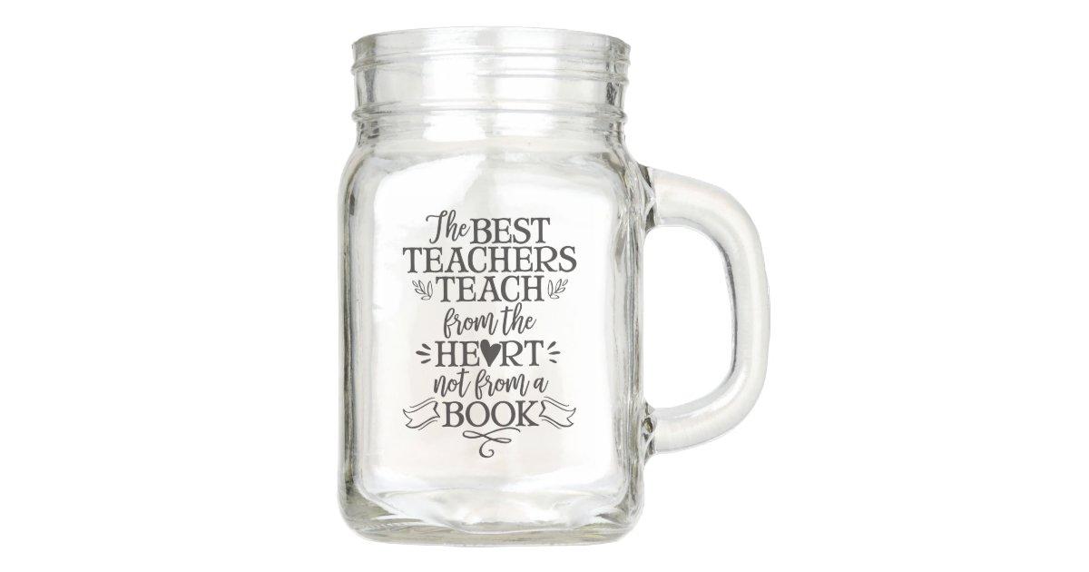 Teacher Appreciation Class Gift Idea Thank You Mason Jar Zazzle Co Nz