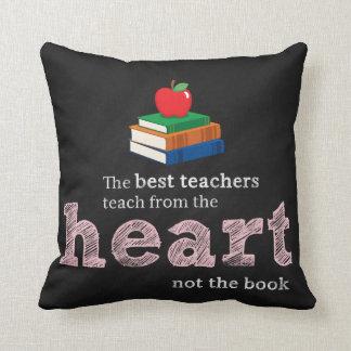 Teacher quote throw pillow