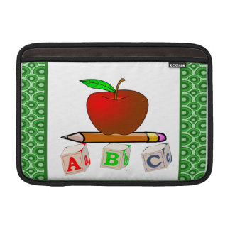 Teachers' ABC's Personalize Sleeve For MacBook Air