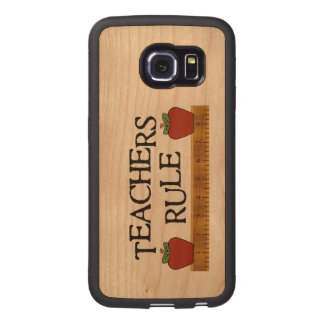 Teacher's Ruler Wooden Samsung S6 Edge Case