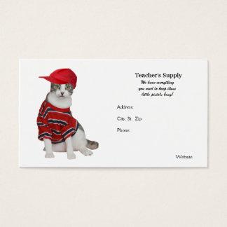 Teacher's Supply Business Card