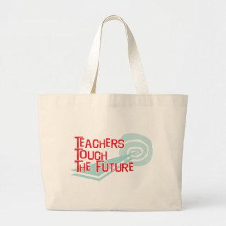 Teachers Touch The Future Jumbo Tote Bag