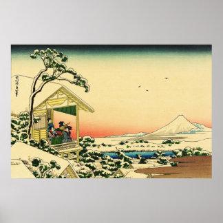 Teahouse at Koishikawa Poster