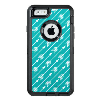 Teal Arrows Pattern OtterBox iPhone 6/6s Case