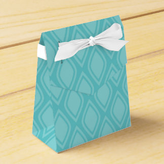 Teal Blue, Turquoise, Vintage Look Favour Box