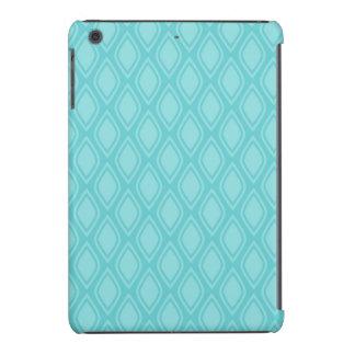 Teal Blue Turquoise Vintage Look iPad Mini Cases