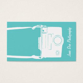Teal Blue Vintage White Film Camera Photography