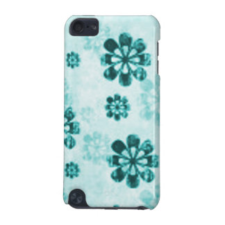 Teal Daisy Grunge IPod Hard Shell Speck Case