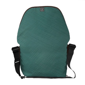Teal Green Courier Bags