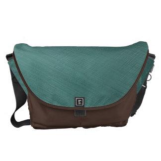 Teal Green Messenger Bags