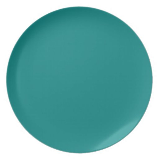 Teal Green Plate