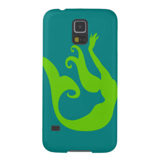 Teal Mermaid Cases For Galaxy S5