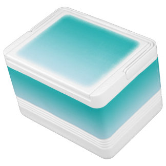 Teal Ombre Chilly Bin