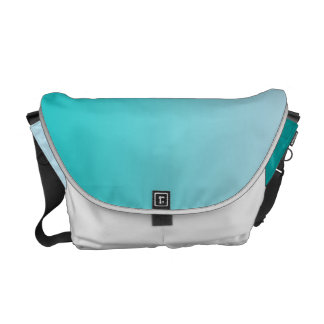 Teal Ombre Commuter Bags
