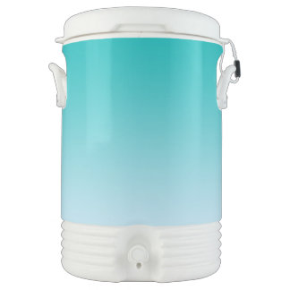 Teal Ombre Cooler