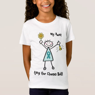 Teal Ribbon Chemo Bell Shirt
