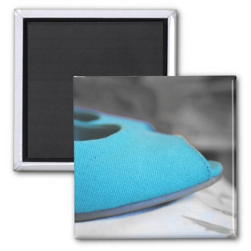 Teal Shoes Magnet