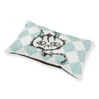 Teal Sky Kitty Pet Bed