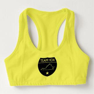 #TEAM434 - PHASE IV - BLACK SHIELD SPORTS BRA