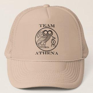 Team Athena (Engravers Font) Trucker Hat