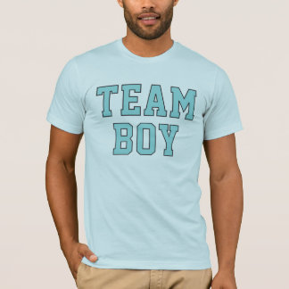 Team Baby Boy | Men's Blue Shirt