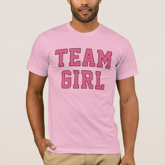 Team Baby Girl | Men's Pink Shirt