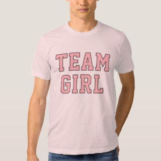 Team Baby Girl | Men's Pink Shirt