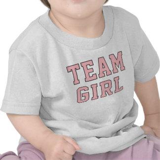 Team Baby Girl Toddler Kid s Pink Shirt