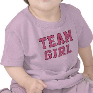 Team Baby Girl | Toddler Kid's Pink Shirt