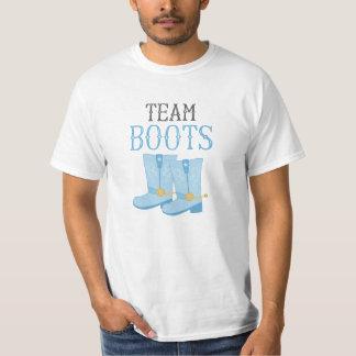 Team Boots Boy Gender Reveal T-Shirt
