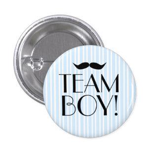Team Boy-Baby Shower 3 Cm Round Badge