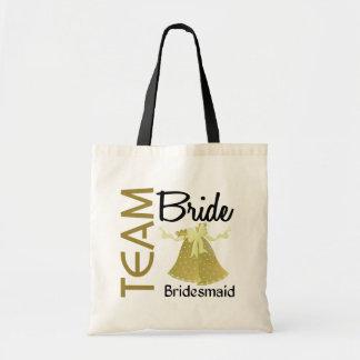 Team Bride 2 Bridesmaid Tote Bag