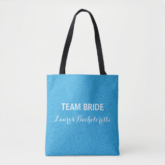 Team Bride All Over Print Tote Bag