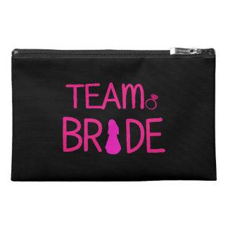 Team Bride - Bridesmaid Big Makeup Bags