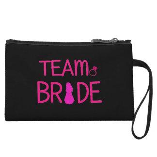 Team Bride - Bridesmaid Clutch Wristlet Clutches
