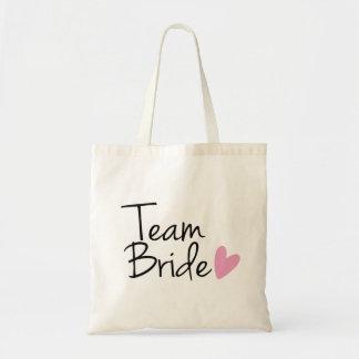 """""""Team Bride"""" Bridesmaid Tote Bag"""