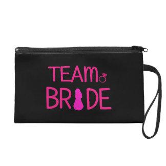 Team Bride - Bridesmaid Wristlet