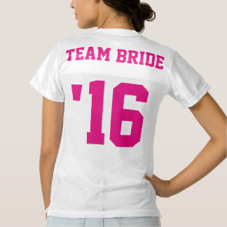 Team Bride Football Jersey