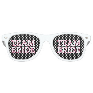 Team Bride Pink Outline Black