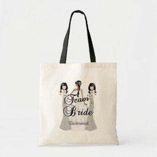 Team Bride   Wedding   Grey & Black   DIY Text