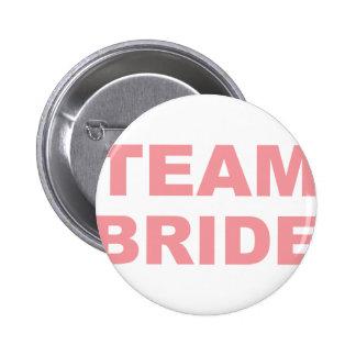 Team Bride Wedding Hen Party 6 Cm Round Badge