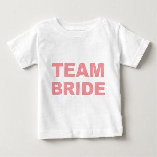 Team Bride Wedding Hen Party Baby T-Shirt