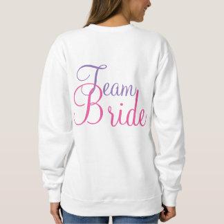 Team Bride Wedding Party Cake Sweatshirt