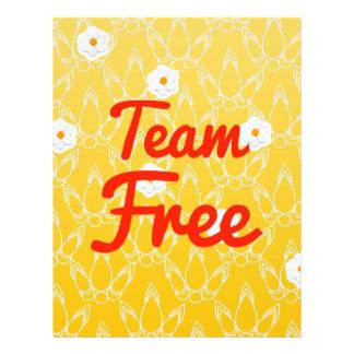 Team Free Full Color Flyer