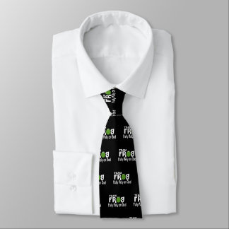 Team Frog (Fully Rely On God) Tie